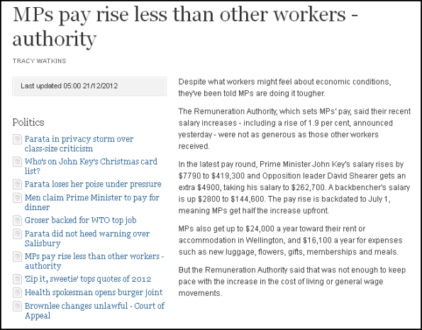 MPs pay rise less than other workers - authority