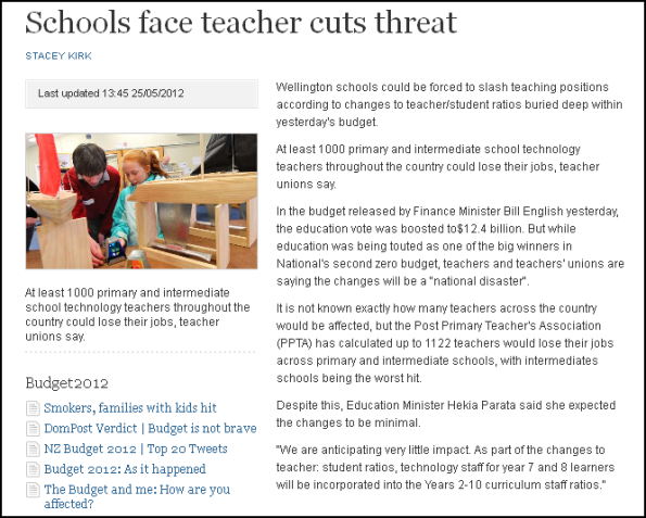 Schools face teacher cuts threat