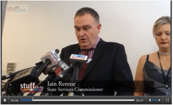 State Services Commissioner Iain Rennie announces Longstone's resignation