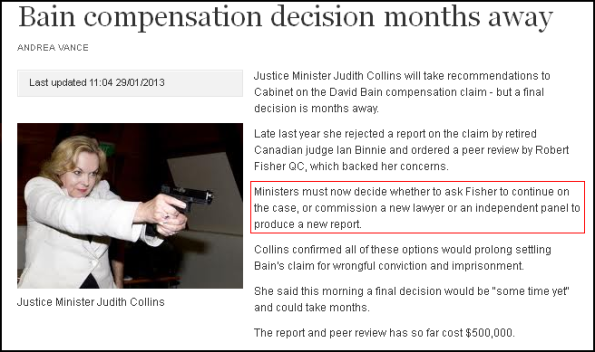 Bain compensation decision months away