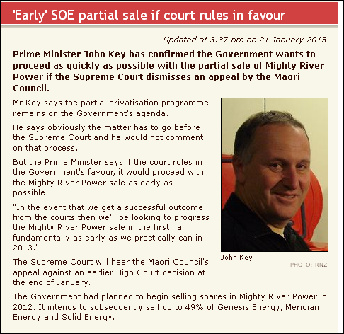 'Early' SOE partial sale if court rules in favour