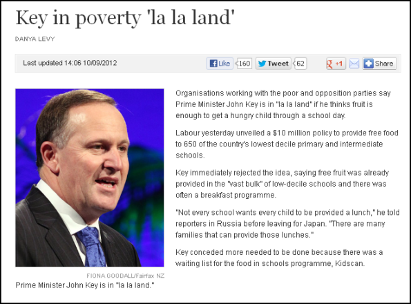 Key in poverty 'la la land'