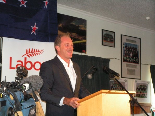 Frank Macskasy  Frankly Speaking  blog fmacskasy.wordpress.com David Shearer - 27 January 2013 - new era new solutions - wainuiomata rugby club