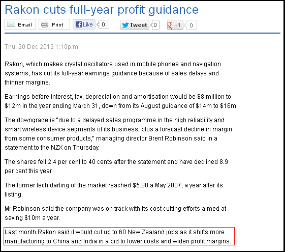 Rakon cuts full-year profit guidance