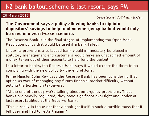 bank bailouts - bailout - new zealand banks - john ley
