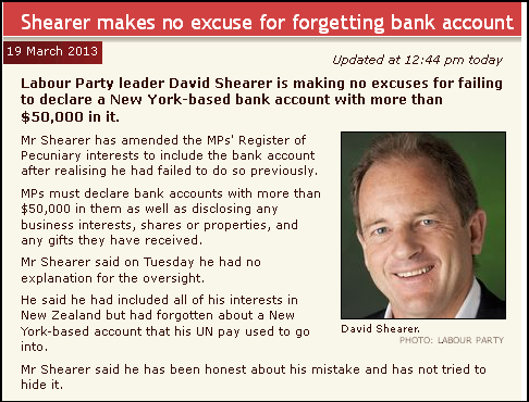 Shearer makes no excuse for forgetting bank account