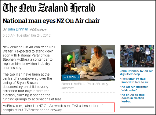 National man eyes NZ On Air chair