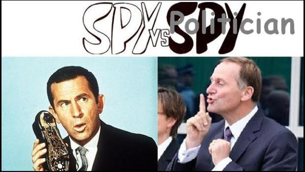 spy vs politician