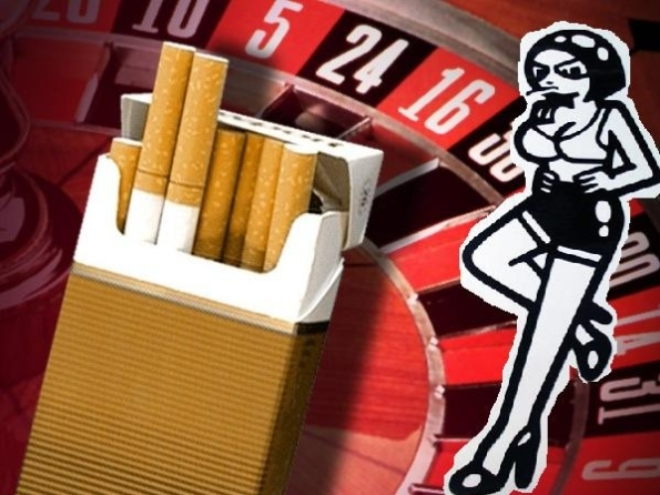 smoking-and-gambling and prostitution