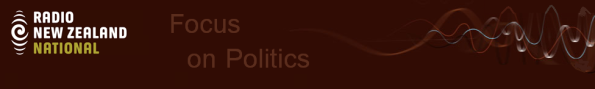 Radio NZ logo - Focus on Politics