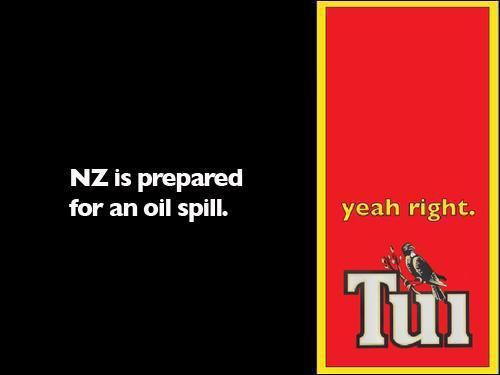 NZ is prepared for an oil spill