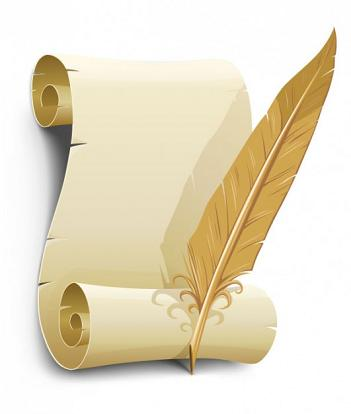 old-paper-with-quill-pen-vector_34-14879