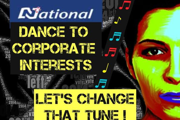 National dance to corporate interests