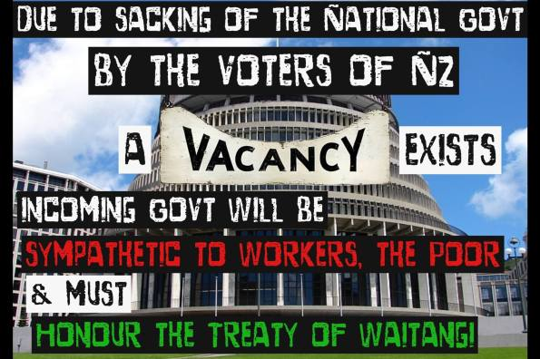 The sacking of the national govt