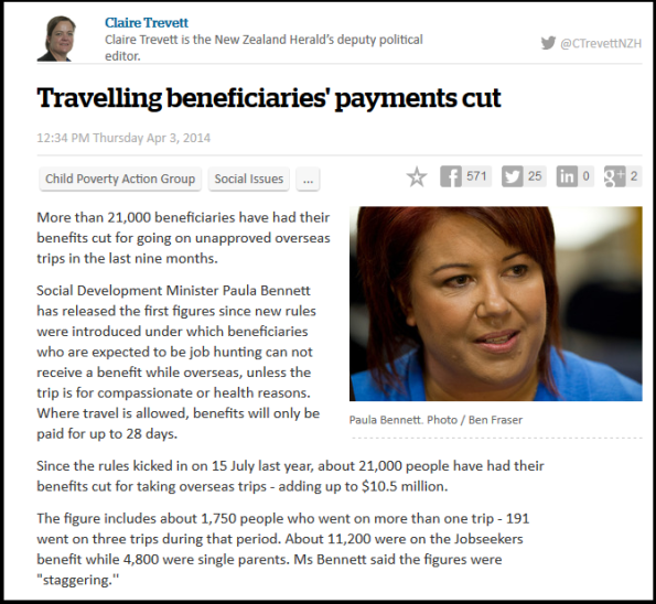 Travelling beneficiaries' payments cut