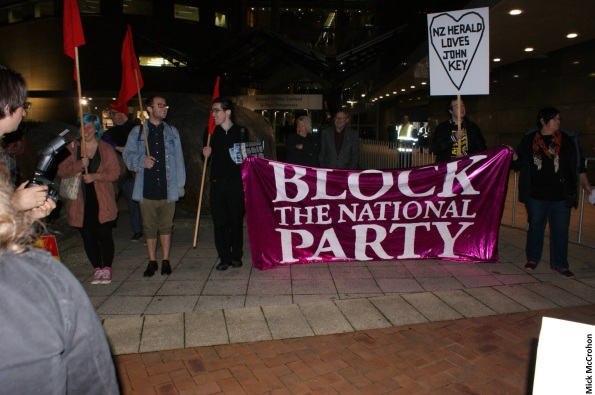 anti-National protest - Poneke Action Against Poverty - 28 June 2014 - Te Papa - Wellington (101)
