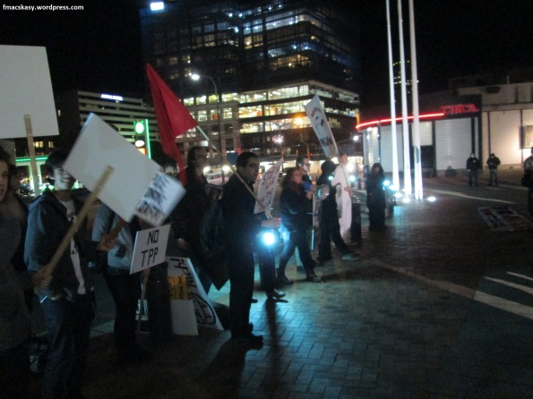 anti-National protest - Poneke Action Against Poverty - 28 June 2014 - Te Papa - Wellington (6)