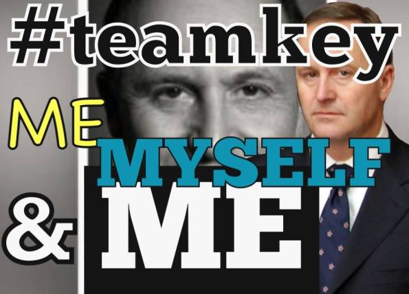 Team key - me myself  and me
