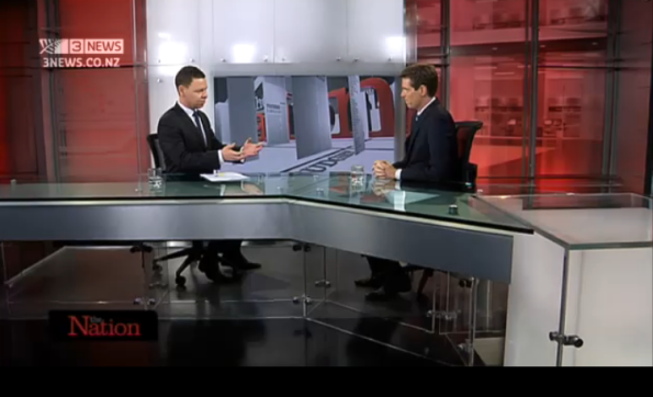 The Nation - Patrick Gower - Colin Craig - Conservative Party - TV3 - National - election 2014