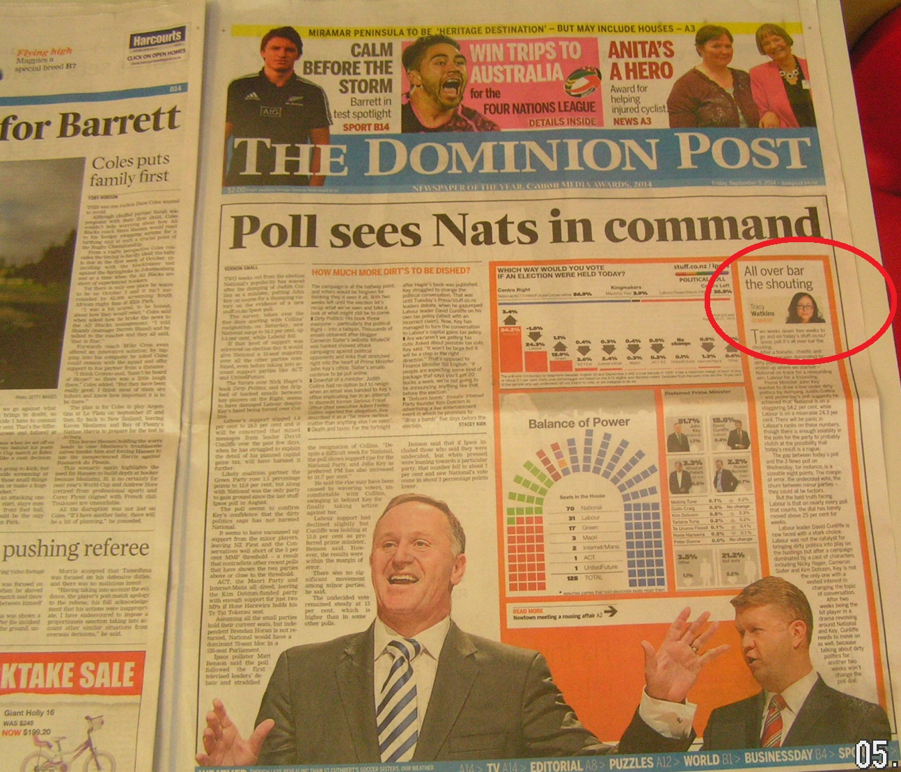 dominion-post-5-september-2014-fairfax-ipsos-poll-2014-election-tracey-watkins