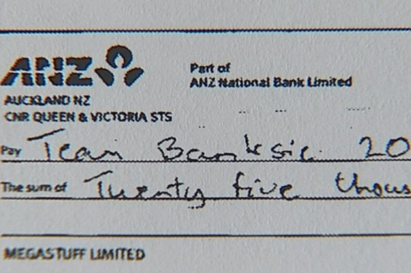 John banks - kim dotcom - false electoral return - conviction - 2010 local body election - cheques to dotcom