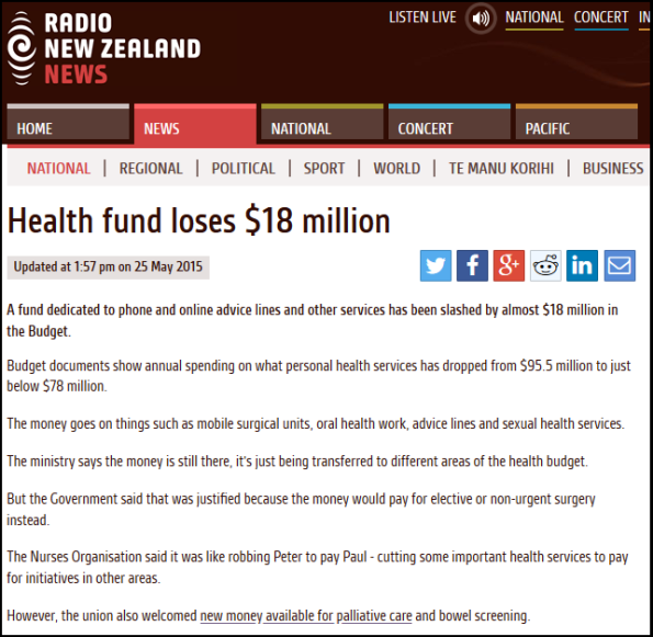 Health fund loses $18 million