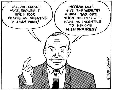 give the rich tax cuts