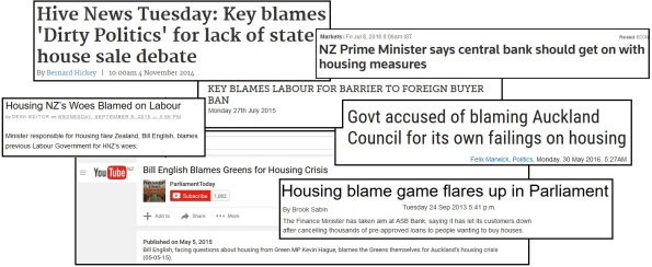housing crisis - national - blame game