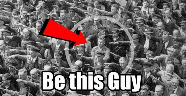 man-refuses-to-salute